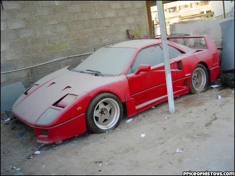 Dubai Ferrari F40 1 ...
